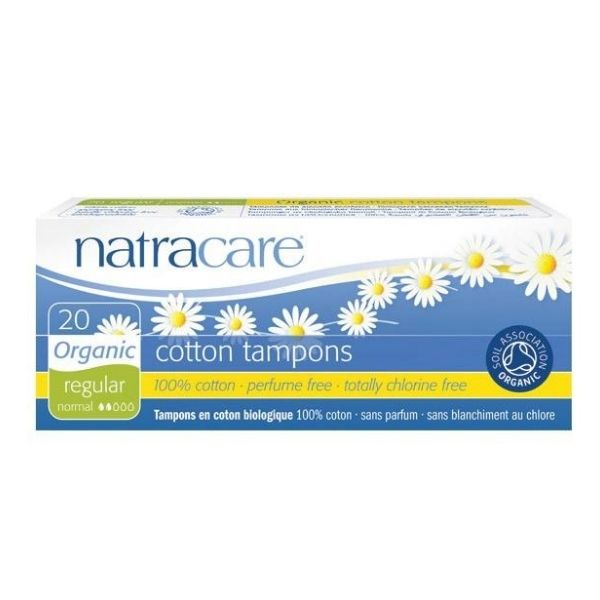 TAMPONS NORMAL SANS APPLICATEUR X20 - NATRACARE / CANOPY