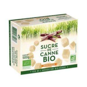 SUCRE DE CANNE MORCEAUX 500g - L&H / CANOPY