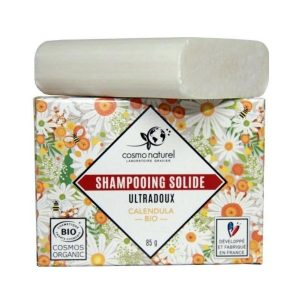 SHAMPOING SOLIDE ULTRA DOUX 85g - COSMO NATUREL / CANOPY