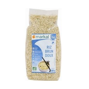 "RIZ COMPLET ""GLUTINEUX"" LONG GRAIN 500g - MARKAL / CANOPY"