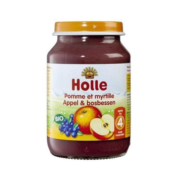 PETIT POT POMME MYRTILLE 190g - HOLLE / CANOPY
