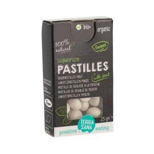 PASTILLES RÉGLISSE MENTHE 25g - TERRASANA / CANOPY