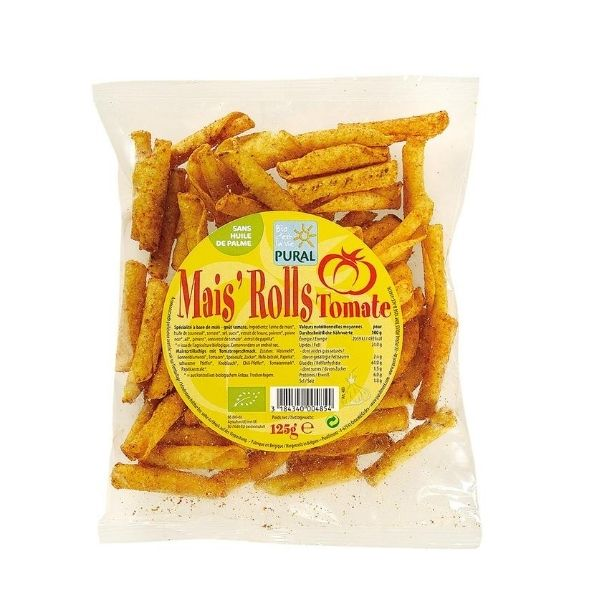 MAIS ROLLS TOMATE 125g - PURAL / CANOPY