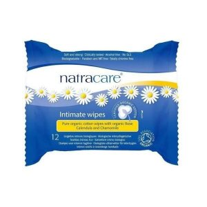 LINGETTES FÉMININES INTIMES X12 - NATRACARE / CANOPY