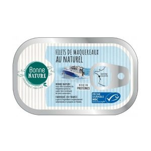 MAQUEREAUX MSC AU NATUREL 100g - BONNE NATURE / CANOPY