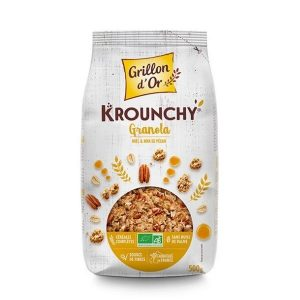 KROUNCHY GRANOLA 500G - GRILLON D OR / CANOPY