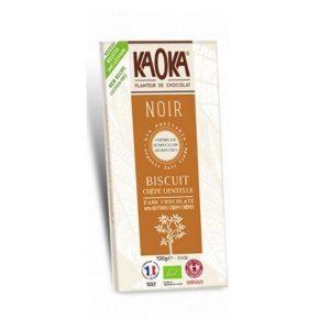 KAOKA CHOCOLAT NOIR 55% CRÊPES DENTELLES 100g - KAOKA / CANOPY