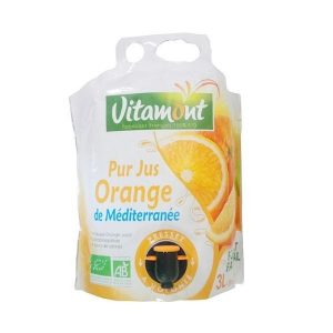 JUS D'ORANGE POCHE SOUPLE 3L - VITAMONT / CANOPY