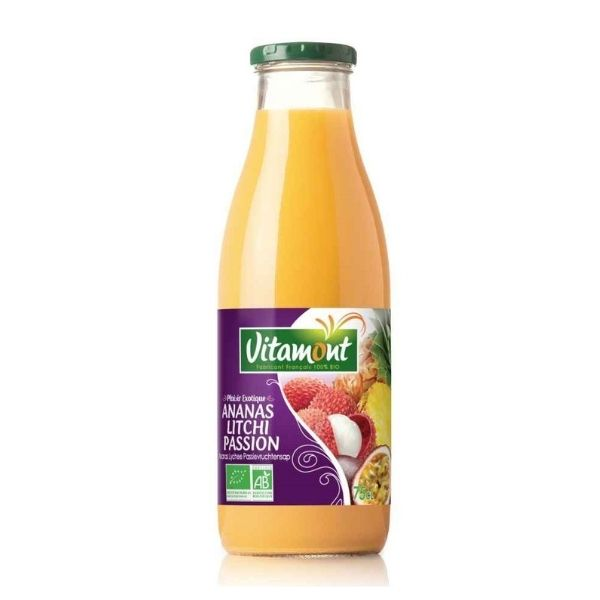 JUS ANANAS LITCHI PASSION 75cl - VITAMONT / CANOPY