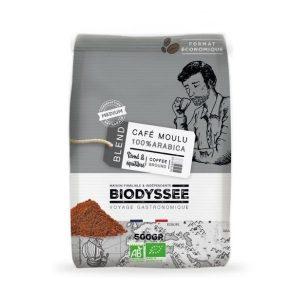 CAFÉ MOULU 100% ARABICA MEDIUM 500g - BIODYSSEE / CANOPY