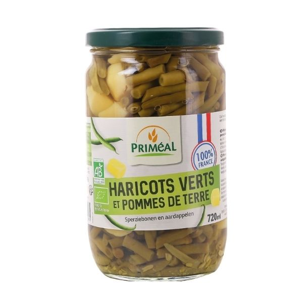 HARICOTS VERTS EXTRA FINS FRANCE 720ml - PRIMÉAL / CANOPY