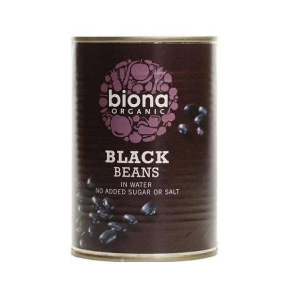 HARICOTS NOIRS 400GR - BIONA / CANOPY
