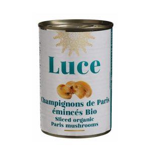 CHAMPIGNONS DE PARIS ÉMINCÉS 400g LUCE / CANOPY