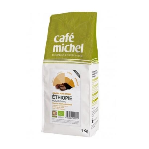 CAFÉ ETHIOPIE SIDAMO GRAINS 1KG - CAFÉ MICHEL / CANOPY