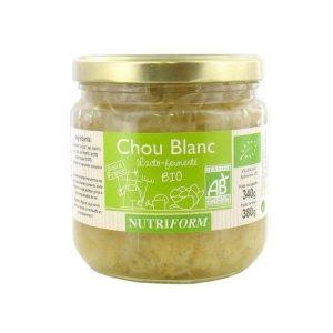 CHOU BLANC LACTOFERMENTÉ 380g - NUTRIFORM / CANOPY