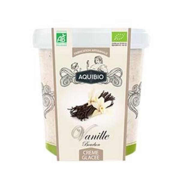 CRÈME GLACÉE VANILLE 500ml - AQUIBIO / CANOPY