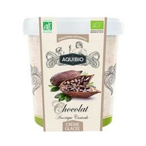 CRÈME GLACÉE CHOCOLAT 500ml - AQUIBIO / CANOPY