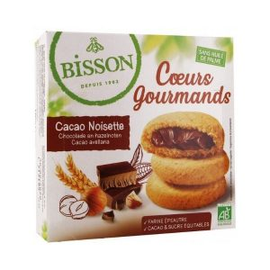 COEURS GOURMANDS CACAO NOISETTE 180g- BISSON / CANOPY