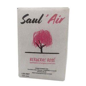 BIB SAUL'AIR ROSÉ BERGERAC 5L - LES 3 SAULES / CANOPY