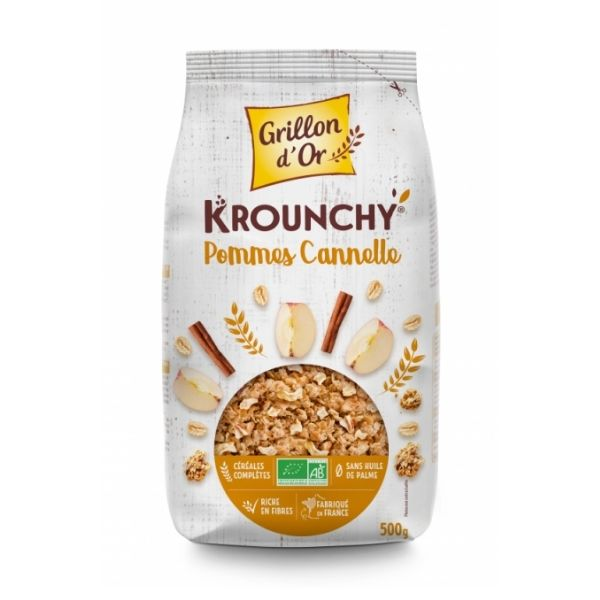 KROUNCHY POMME CANNELLE 500g - GRILLON D'OR / CANOPY