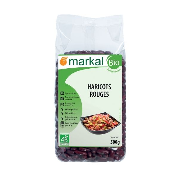 HARICOT ROUGE KIDNEY 500g - MARKAL / CANOPY