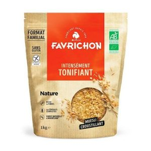 MUESLI CROUSTILLANT NATURE 1kg - FAVRICHON / CANOPY