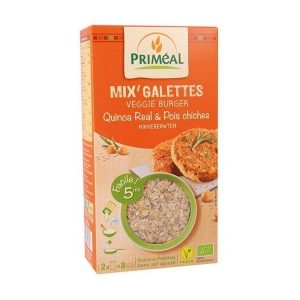 MIX' GALETTES QUINOA & POIS CHICHES 250g - PRIMÉAL / CANOPY