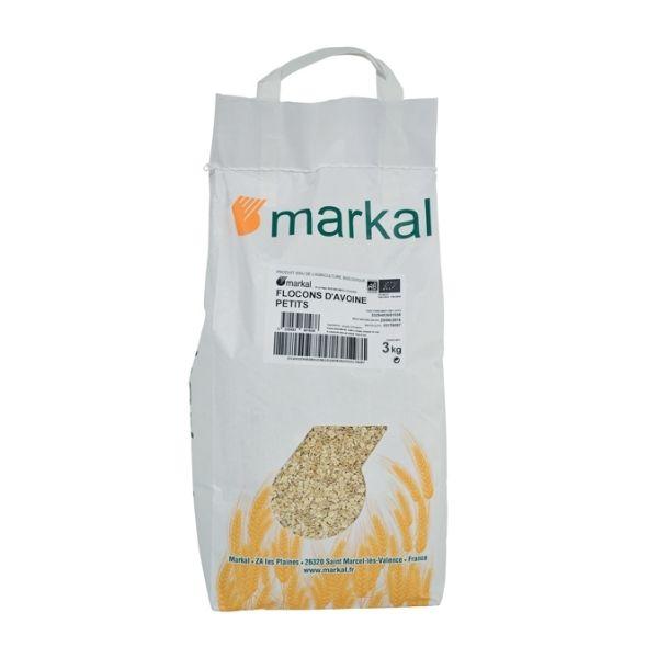 FLOCONS D'AVOINE GROS 3KG - MARKAL / CANOPY