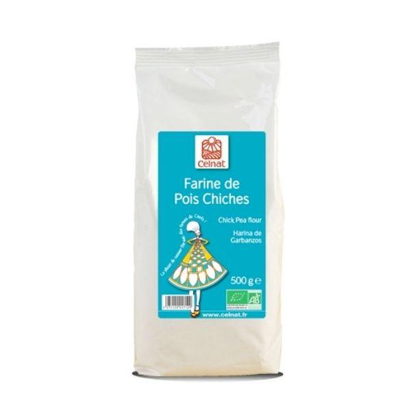 FARINE DE POIS CHICHES 500G - CELNAT / CANOPY