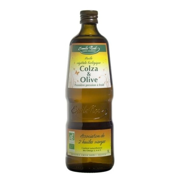 HUILE COLZA OLIVE BIO 1L - EMILE NOEL / CANOPY