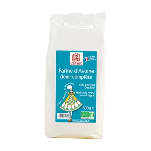 FARINE D'AVOINE DEMI-COMPLETE 500G - CELNAT / CANOPY