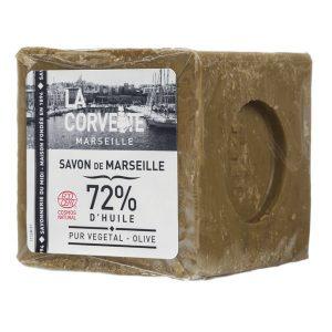 SAVON DE MARSEILLE OLIVE ECOCERT  300gr - LA CORVETTE