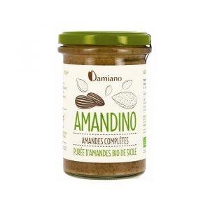 AMANDINO PURÉE AMANDE COMPLÈTE  275G - DAMIANO