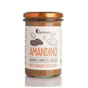 PURÉE D'AMANDES GRILLÉES AMANDINO 275g - DAMIANO / CANOPY