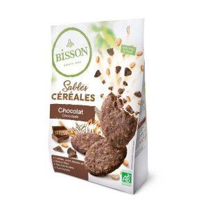 SABLÉS CÉRÉALES CHOCOLAT 200g - BISSON / CANOPY
