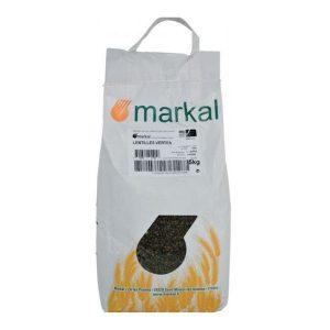 LENTILLES VERTES 5KG - MARKAL / Canopy