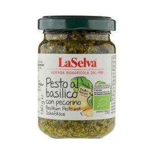 PESTO BASILIC AU PECORINO 130g - LA SELVA / CANOPY