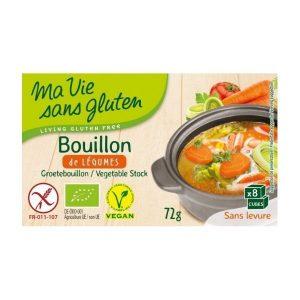 BOUILLON DE LÉGUMES 72g - MA VIE SANS GLUTEN / CANOPY