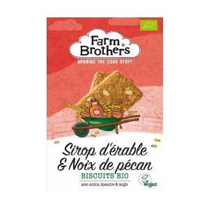 BISCUITS NOIX DE PECAN SIROP D'ERABLE 150g - FARM BROTHER / CANOPY