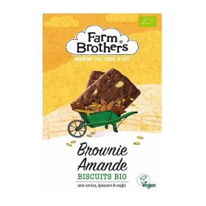BISCUITS BROWNIE AMANDE 150g - FARM BROTHER / CANOPY