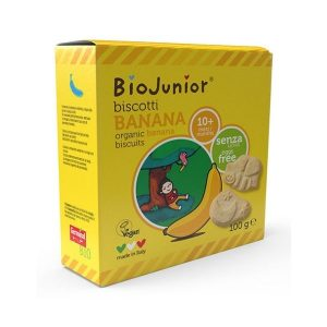 BISCUITS BANANE dès 7 Mois 100g - BIOJUNIOR / CANOPY