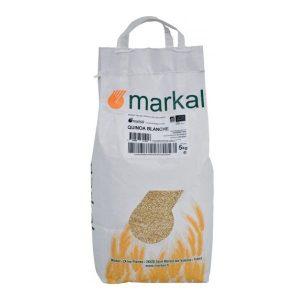 QUINOA REAL BLANC 5kg - MARKAL / CANOPY