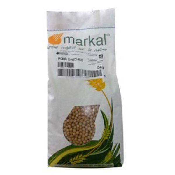 POIS CHICHES SECS 5KG - MARKAL / CANOPY