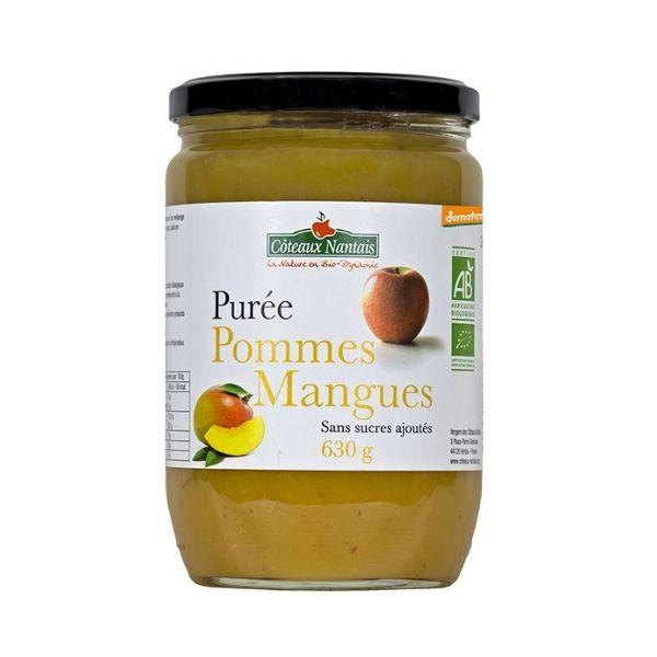 PURÉE POMMES MANGUES 630g - COTEAUX NANTAIS / CANOPY