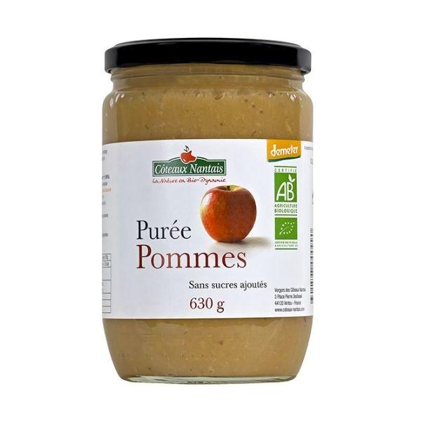 PURÉE POMMES 630G - COTEAUX NANTAIS / CANOPY
