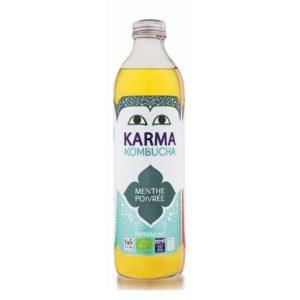 KOMBUCHA MENTHE POIVRÉE 500ml - KARMA KOMBUCHA / CANOPY
