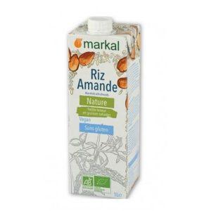 BOISSON VEGETALE RIZ AMANDE 1L - MARKAL / CANOPY