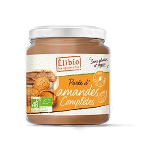 PUREE D'AMANDES COMPLETES GRILLÉES 350g - ELIBIO / CANOPY