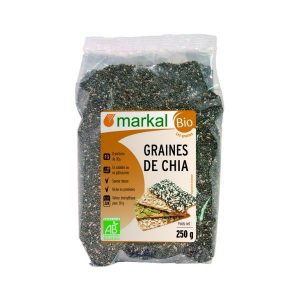 GRAINES DE CHIA 250g - MARKAL / CANOPY
