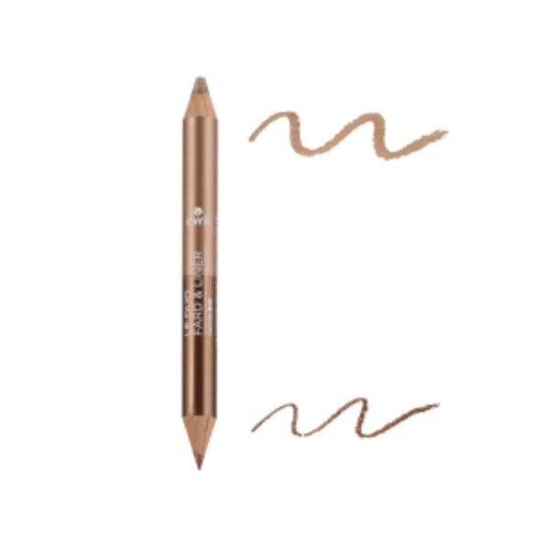 DUO LINER Bronze cuivré/Beige doré 2g - AVRIL / Canopy